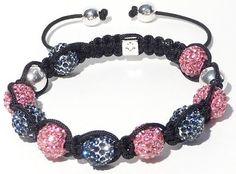 High-quality Shamballa Bracelet PINK 10mm CZ crystal disco ball HOT ★★★★★