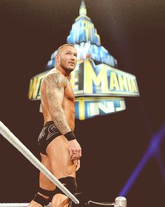 "I wish he woulda been ""coming home"" with me to Jersey!!!                   Randy Orton 