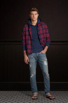 California style dress for men