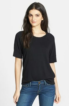 James Perse Raglan Sleeve Cotton Pullover available at #Nordstrom