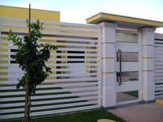 Our Top 10 Modern house designs – Modern Home House Main Gates Design, House Outside Design, House Design, Front Wall Design, Fence Design, Compound Wall Design, Vertical Garden Design, Modern House Facades, Boundary Walls