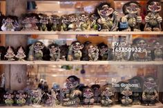 Traditional trolls on display in Tromso Gift and Souvenir Shop in Strandgata in Tromso, Norway Get premium, high resolution news photos at Getty Images