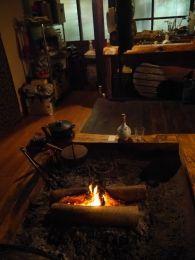 囲炉裏サロン「田樂荘」 島根県仁多郡奥出雲町 #出雲