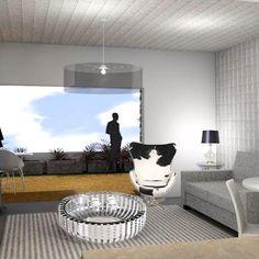 Living room Archicad render