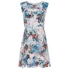 Isla Ripple Flared Dress