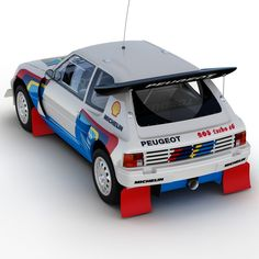 Fantastic render of the Peugeot 205 T16 by the TurboSquid outfit (4)