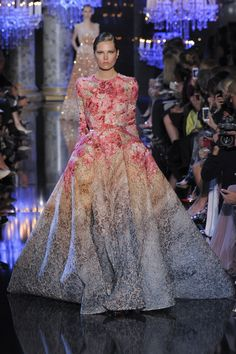 Elie Saab, autumn/winter 2014 couture. I have decided this is my absolute favorite designer.