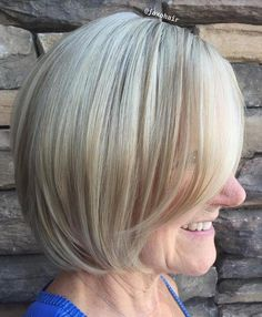 50 Modern Haircuts for Women over 50 with Extra Zing - 50 Modern Haircuts for Women over 50 with Extra Zing - Haircut For Older Women, Bob Haircuts For Women, Modern Haircuts, Short Hairstyles For Women, Classic Hairstyles, Hairstyles Over 50, Bob Hairstyles, Hairstyles Pictures, Hairdos