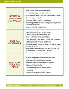 Signs of Elder Abuse  #eldercare