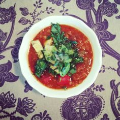 Good Golly, Miss Dolly : Mexican Red Lentil Soup