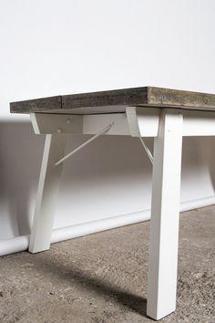 16juin concrete dinner table