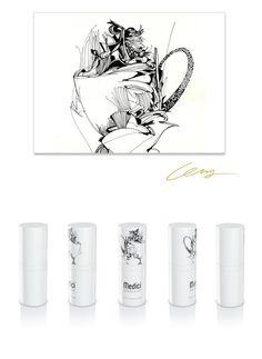"www.medici.so ""Medici Artist Edition"" M - series [Aromatic Buon Giorno of Dancing Khaldy : 춤추는 칼디의 향기로운 본 조르노]"