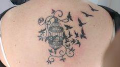 birdcage tattoo - Google Search