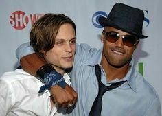 Criminal Minds Reid & Morgan (THAT HAT!!!)