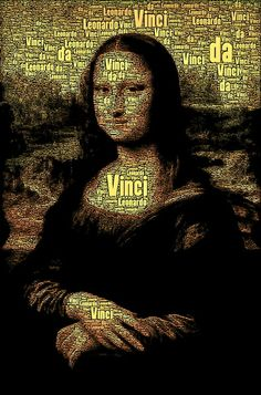 Mona Lisa Art Print  by AnacondaOnline.eu society6.com