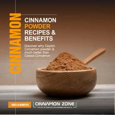Discover how to use Ceylon Cinnamon powder and not cassia Cinnamon plus a collection of the best Cinnamon recipes for meats, soups, drinks and vegetables.