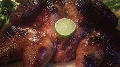 دجاج بتتبيلة الليمون الحامض والزنجبيل