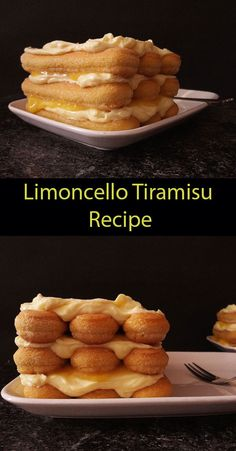 Limoncello Tiramisu Recipe. Limoncello, recipe, homemade, tiramisu, desserts, how to make, lemoncello cake, tiramisu recipe, recipe desserts, Italian, selber machen, ricetta originalle, home made, receta, mascarpone cake recipe, no bake, lemon curd, easy. cooking with nonna, nonnas Refreshing Desserts, Summer Desserts, Easy Desserts, Dessert Recipes, Summer Dishes, Tiramisu Recipe, Homemade Tiramisu, Limoncello Recipe, Lemon Recipes