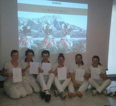 Foto del corso di massaggio Hawaiano DIABASI a Vicenza.