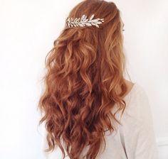 Red curls by Kristin Ess