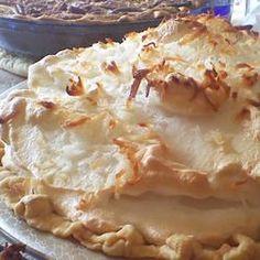 Coconut Marshmallow Cream Meringue Pie Allrecipes.com