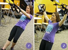 You'll want to add these three TRX exercises to your routine for toned arms and chest.