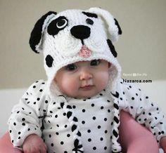 Örgü şirin mi şirin,sevimli mi sevimli Dalmaçyalı Köpek şeklinde Tığ kullanılarak Örülen Örme Bebek Beresi. Eminim bir çok bayan arkadaşımda resimdeki Bebeği gördüğünde benim gibi Ayy demiştir :) B…