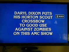 """Jeopardy clue...""""I know this one, I know it!  Hold on, it's on the tip of my tongue!""""  *wink*"""