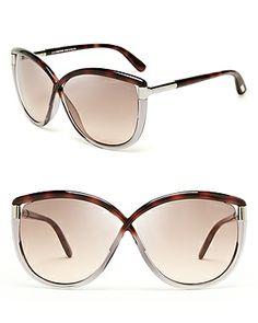 191a02ade0 Tom Ford Abbey Oversized Sunglasses Tom Ford Eyewear