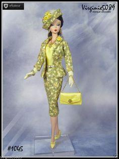 Tenue Outfit Accessoires Pour Fashion Royalty Barbie Silkstone Vintage 1045   eBay