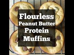 Peanut Butter Banana Protein Muffins, an easy flour-less gluten free breakfast!