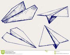 Papierflugzeuge - Download von über 41 Million Vorrat-Fotos der hohen Qualität, Bilder, Vectors. Melden Sie sich FREI heute an. Bild: 26513674