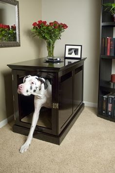 denhaus designer dog crate furniture photo gallery big dog furniture