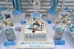 Frozen Birthday Party Ideas | Photo 1 of 18