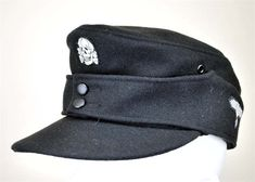 SS Panzer Enlisted (M43) Field Cap.
