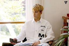 SEVENTEEN VERNON [스타캐스트] 세븐틴 1ST WORLD TOUR 'DIAMOND EDGE' 일본 MD 촬영 및 일본 콘서트 대기실 비하인드