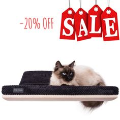 SALE! 20% off patent pending design cat bed BLACK cat bed cat shelves for cat lovers perch for cat pet furniture gift for cat cosyanddozy by CosyAndDozy on Etsy