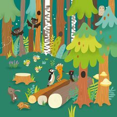 forest illust - Google Search