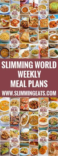 Slimming World Meal Plans added Weekly, taking the hard work out of meal planning. All you have to do is cook and enjoy these delicious recipes. (Diet Recipes Slimming World) Slimming World Menu, Slimming World Recipes Syn Free, Slimming Eats, Slimming World Lunches Work, Slimming World Survival, Diet Recipes, Delicious Recipes, Healthy Recipes, Soup Recipes