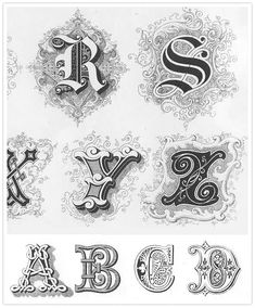 hello, amazing calligraphic inspiration resource | DIY Wedding, Pretty Paper | 100 Layer Cake