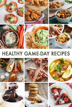 35 Healthy Game Day Recipes - Lexi's Clean Kitchen
