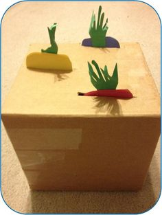 Cardboard Garden Create a cardboard garden plot for your kiddos