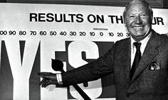 Edward Heath winning the 1975 in-out referendum on EU membership. Photograph: AP