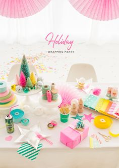 Holiday Wrapping Party | Oh Happy Day!