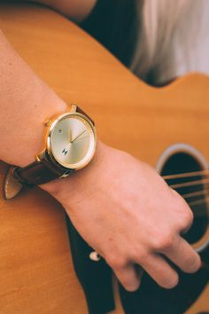 This captures two of my favorite things: watches and guitars! #MVMTSUMMER