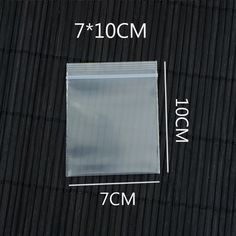 7x10cm 200Pcs/lot Thick Bag Packing Bags Transparent Resealable Plastic PE Zip Lock Bags Thickness:0.2mm
