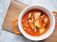 Vamos con los menús de verano. Una receta fácil, sencilla y sana, pechugas margarita. Su nombre se debe a los ingredientes.