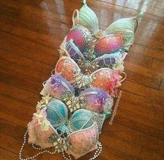 The only bra I will ever wear again...will be when I'm a mermaid!