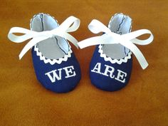 Penn State University Baby Booties