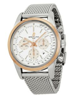 Breitling Men's Transocean Chronograph Automatic Watch